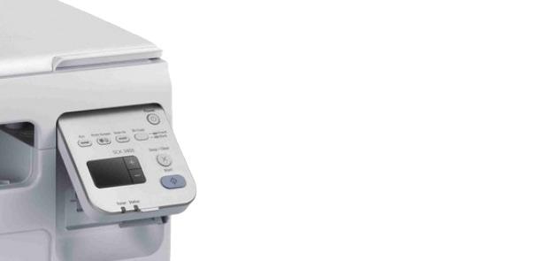 Samsung ML series printer buttons
